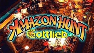 Gottlieb Amazon Hunt Pinball