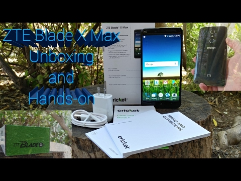 ZTE Blade X Max Unboxing and Hands-on