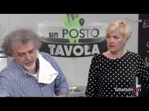 UN POSTO A TAVOLA - in studio GNUDI BURRO E SALVIA - FAVE E CICORIE in collegamento da Bari