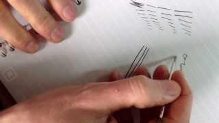 Cross Pens Ball Point Refill Comparison Broad Medium Fine