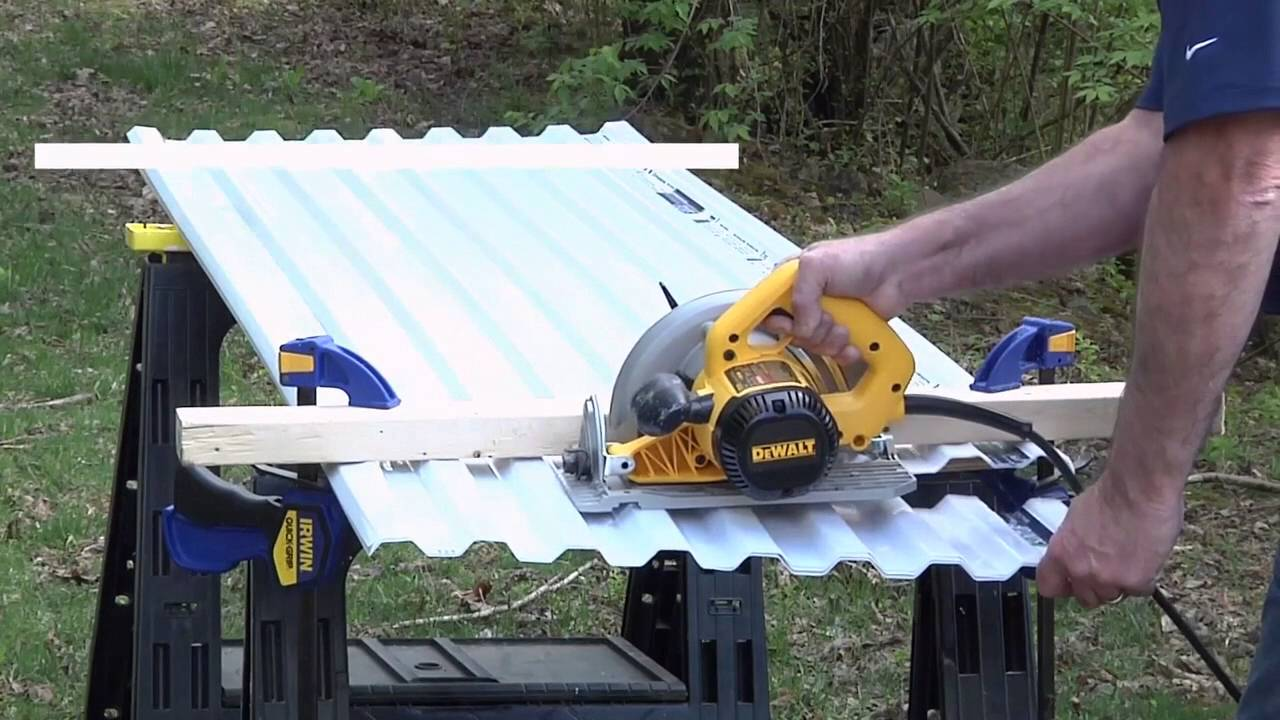 How To Cut Corrugated Fiberglass Roofing Panels Tyres2c
