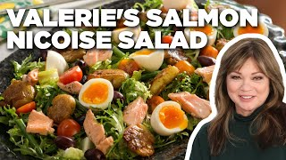 Valerie Bertinelli's Cold-Poached Salmon Nicoise Salad   Valerie's Home Cooking