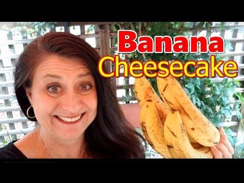 Creamy Banana Cheesecake