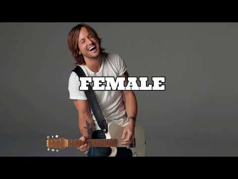 Keith Urban -'FEMALE' ||Lyrics||