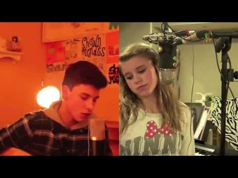 """Say Something"" Cover by Shawn Mendes and Madi Scoville"
