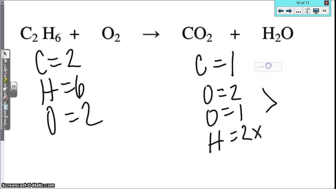 Balancing Equations Practice Worksheet Answer Key Part C