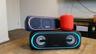 Sony SRS-XB10, SRS-XB30 & SRS-XB40 Review