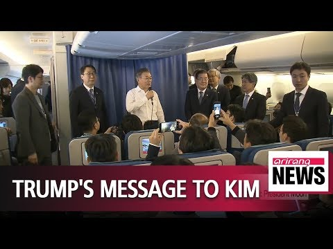 Trump says he will give Kim everything wants following denuclearization: President Moon