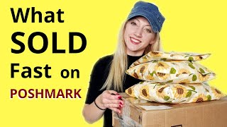 What Sold on Poshmark | Fast Sales in September | How I Make Money Selling Clothing Online #thrifter