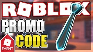 [PROMO CODE] HOW TO GET THE NEON BLUE TIE   Roblox