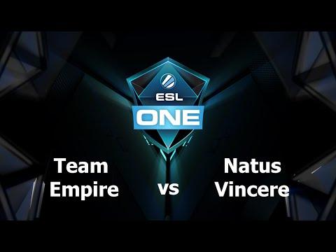 Na'Vi vs Team Empire Game 1 - ESL One Manila EU - @TobiWanDOTA @DotaCapitalist