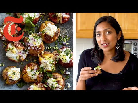 Priya Krishna's Indian-ish Baked Potatoes | NYT Cooking