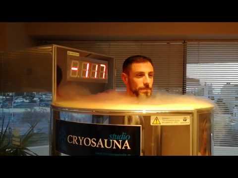 Grigoris Souvatzoglou Greek Triathlon Champion uses Cryosauna