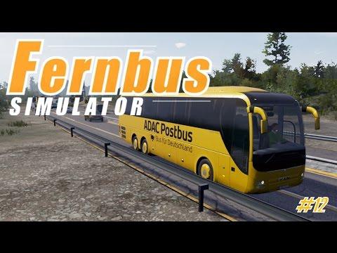 FERNBUS SIMULATOR #12 ★ Neues Update & Postbus Mod I Bremen - Hamburg [Deutsch/HD]