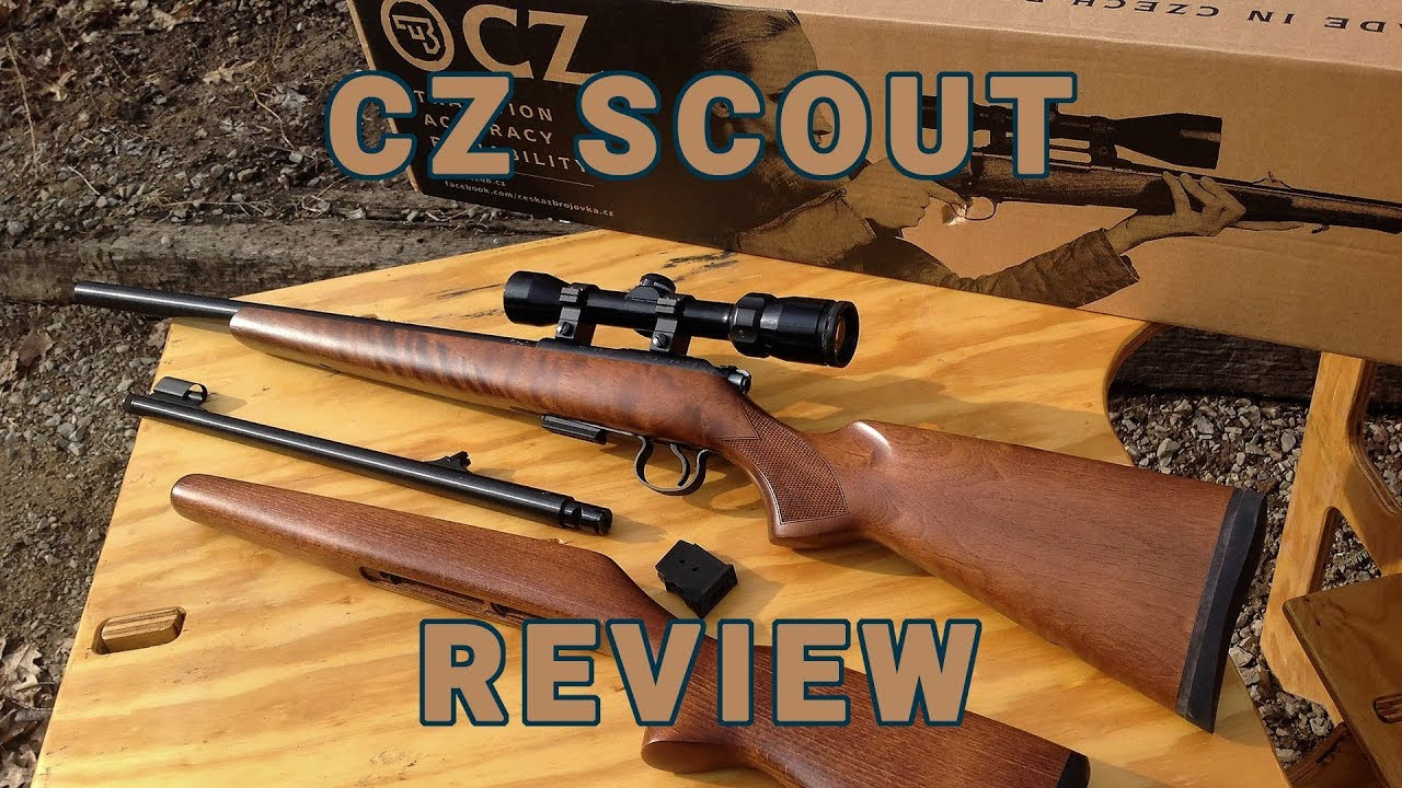 Gun Review: CZ's 455 Scout appeals to youth, adults alike (VIDEO)