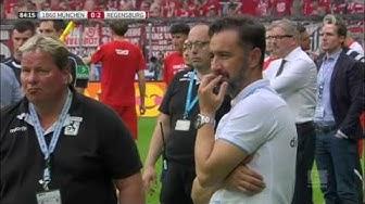 Fans rasten aus TSV 1860 3. Liga Abstieg (30.5.2017)