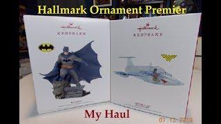 Hallmark Ornament Premier Day Haul