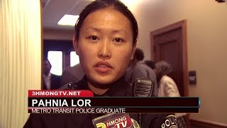 3HMONGTV NEWS: Three Hmong officers graduate from Metro Transit Police Department.