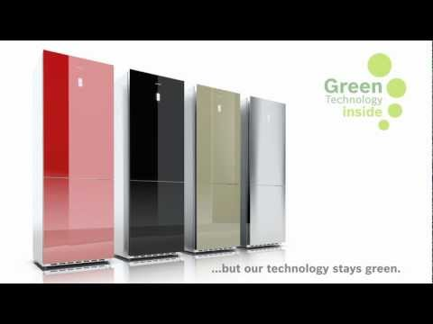 New Colour For Your Kitchen Bosch Colorglass Fridges Youtube