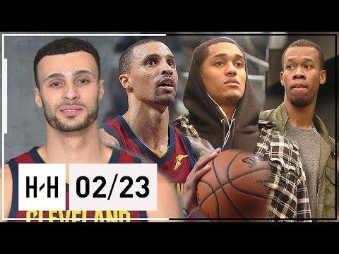 George Hill, Clarkson, Nance Jr. & Rodney Hood Highlights vs Grizzlies (2018.02.23) - SICK
