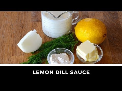 1-Minute Video! LEMON DILL SAUCE!
