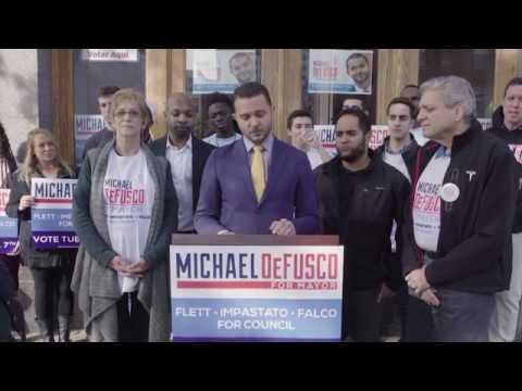 DeFusco speaks out against racist flier