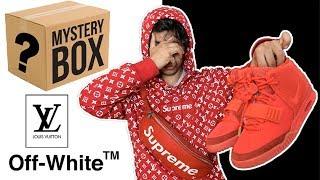 ÅBNER HYPEBEAST MYSTERY BOX TIL 13.000 KRONER! (Supreme, Off-White, LV)