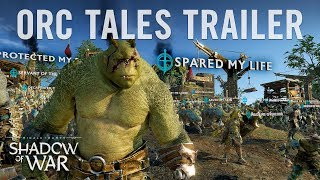 Official Shadow of War Orc Tales Trailer