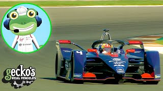 Gecko And The Racing Car - Educational Videos for Kids