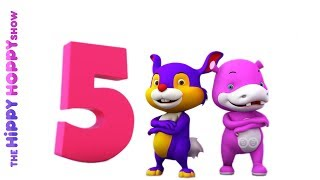 Number Five | Original Number and Counting Songs for Children | Hippy Hoppy Show