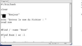 Initiation commande de base linux - scripts bash débutant   (Darija) Maroc