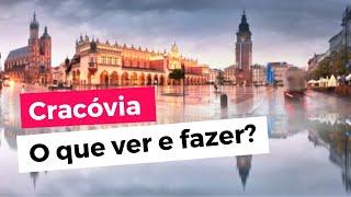 O que ver e fazer em Cracóvia na Polônia? 🇵🇱 Roteiro de viagem