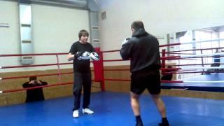 Боксер Автандил Хурцидзе в Запорожье