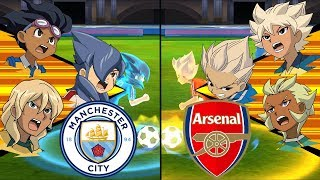 [Full HD 1080P] Inazuma Eleven Premier League ~ Manchester City vs Arsenal ※Pokemon Anchor※