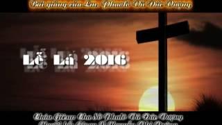 Hát bài Thương Khó Chúa Giêsu theo Thánh Luca (Lễ Lá 2016 - GX Tân hà - GH Bảo lộc - GP Đà lạt)