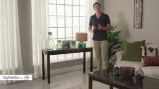 Milano Faux Marble Console Table - Product Review Video
