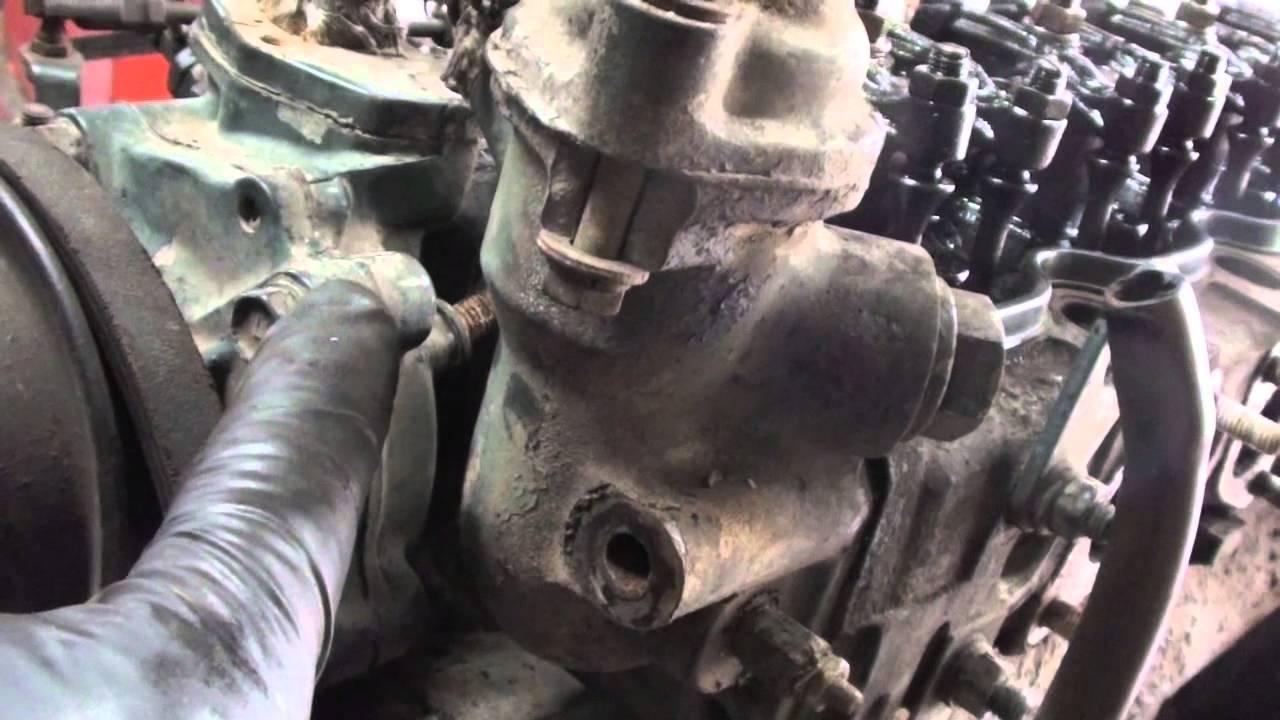 bobcat engine removal 4