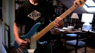 IRON MAIDEN - Blood On The World's Hands Bass Cover (Great Steve Harris Solo)