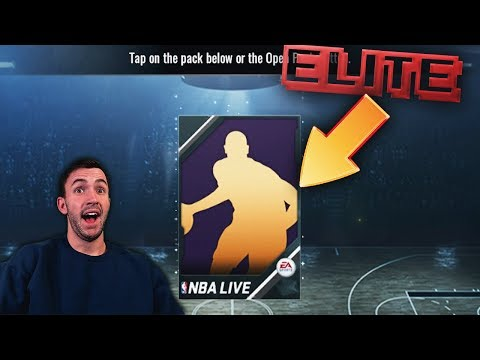 FREE ELITE + UNLOCKING THE AUCTION HOUSE! NBA Live Mobile 18 Ballin on a Budget