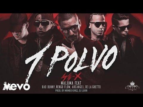 Maluma   Un Polvo ft  Bad Bunny Arcángel Ñengo Flow BASS BOOSTED