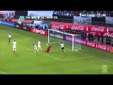 Messi Show , Argentina vs Slovenia 2 0 All Goals  Highlights 2014