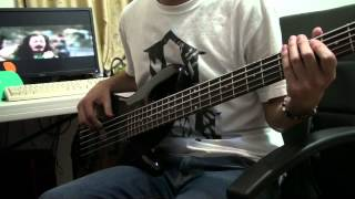 Shields - I Just Feel Hate Bass Cover