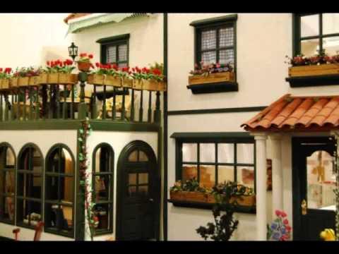 2 exposici n de casas de mu ecas y miniaturas youtube - Casas miniaturas para construir ...