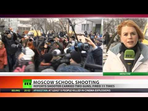 Moscow School Shooting: Student kills teacher, policeman in hostage drama