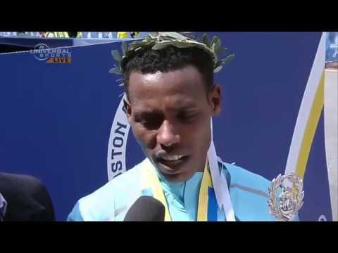 Funny English Interview with Marathon Athlete Lelisa Desisa