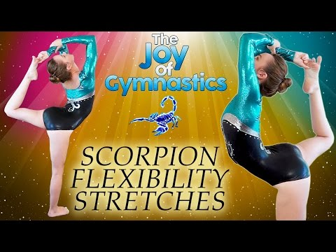 Flexibility Stretches Scorpion Tutorial - How To Do Scorpion Follow Along At Home Workout poster