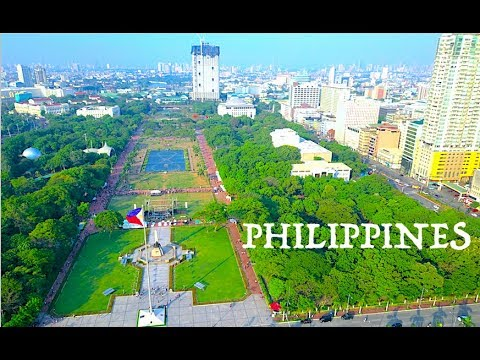 PHILIPPINES 3 CITY 3 MINUTE AERIAL VIEW