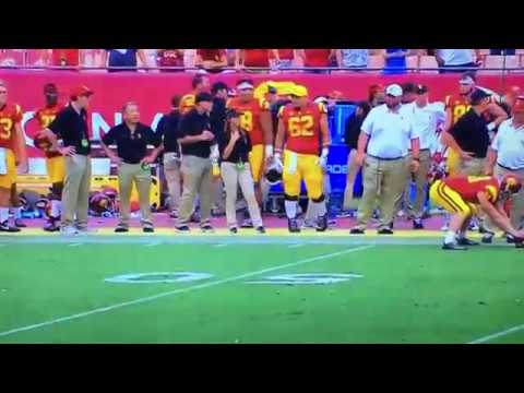 USC Jake Olson Blind Snap