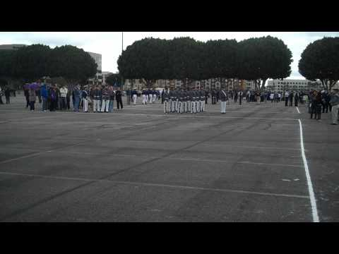 Marine D.I. vs. West Point Drill Team