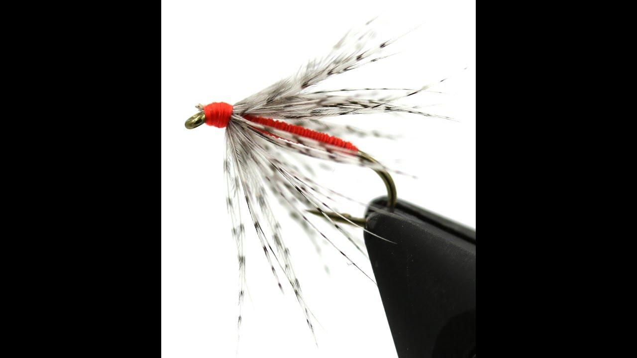 6 pcs Partridge Soft Hackle Orange 14